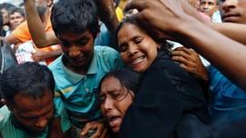 Massa Ekstremis Buddha Serang Pengungsi Rohingya di Sri Lanka
