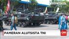 TNI Pamerkan Alutsista Tiga Matra di Surabaya