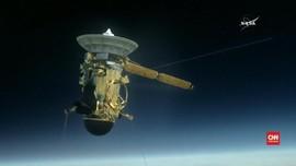 VIDEO: Misi Terakhir Cassini Sebelum 'Pensiun'