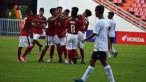 Indonesia U-16 Bungkam Thailand di Bangkok
