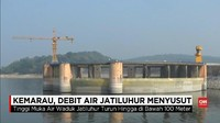 VIDEO: Debit Air Jatiluhur Menyusut Akibat Kemarau Panjang