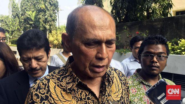 Kivlan Zen resmi ditahan di Rutan POM DAM Jaya Guntur, Jakarta Pusat, usai menjalani pemeriksaan lebih dari 24 jam di Polda Metro Jaya.