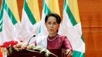 Resmi Buka Suara, Suu Kyi Janji Hukum Pelanggar HAM Rakhine