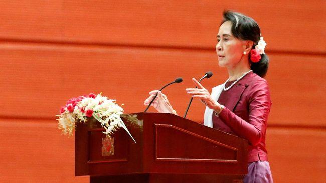 Suu Kyi Persilakan Warga Rohingya Kembali ke Myanmar