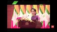 Suu Kyi Klaim Akan Tegas terhadap Pelangar HAM