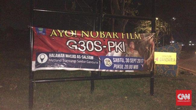 Baru 30 Menit, Pelajar Terlelap saat Nonton Film G30S/PKI