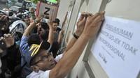 Dishub Segel Kantor Gojek di Padang