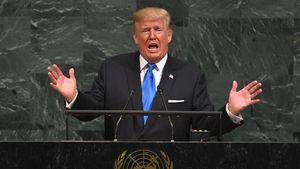 Trump di PBB: AS Akan Hancurkan Korut Jika Terpaksa