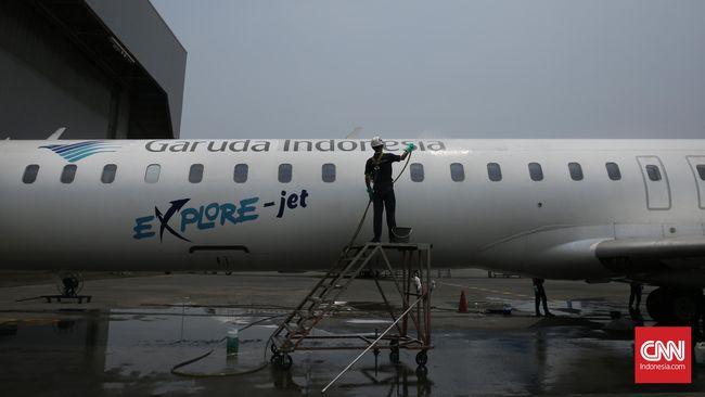 GIAA Garuda Indonesia Tunda Sewa 20 Pesawat Hingga 2019