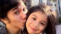 Aktor Vino G Bastian sama putrinya, Jizzy Pearl. ( Foto: Instagram/ @vinogbastian_)