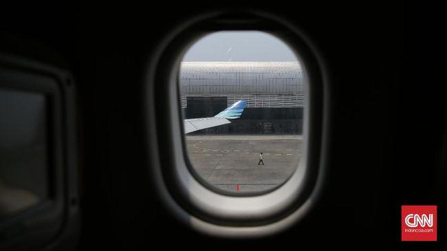 Berkurangannya tekanan kabin membuat pesawat Garuda Indonesia rute Banda Aceh-Jeddah mendarat darurat di Kolombo, Sri Langka, Selasa (2/4).