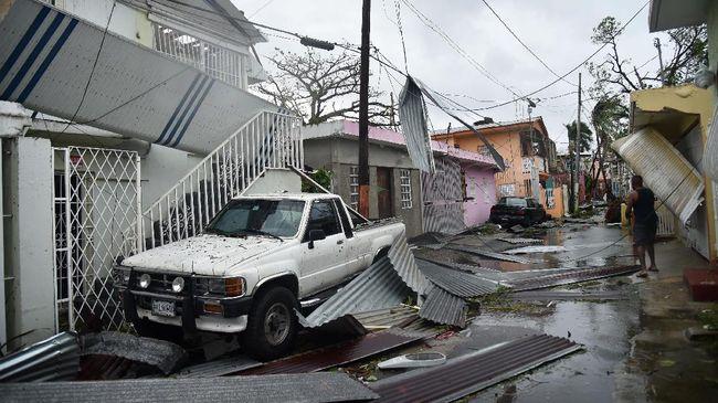 Korban Badai Maria di Puerto Rico Melonjak dari 64 ke 3.000