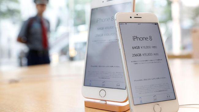 Baterai iPhone meledak setelah salah satu pembeli di China menguji ketahanan dengan cara mengigit.
