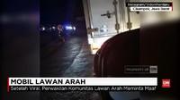VIDEO: Komunitas Mobil yang Lawan Arah di Jalan Tol