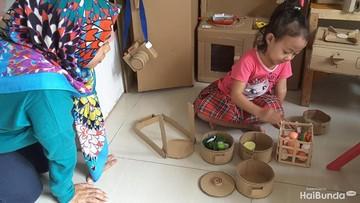 Video: Wah! Lucunya Miniatur Perabotan Rumah dari Kardus