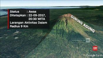 VIDEO: Status Gunung Agung Meningkat ke Awas
