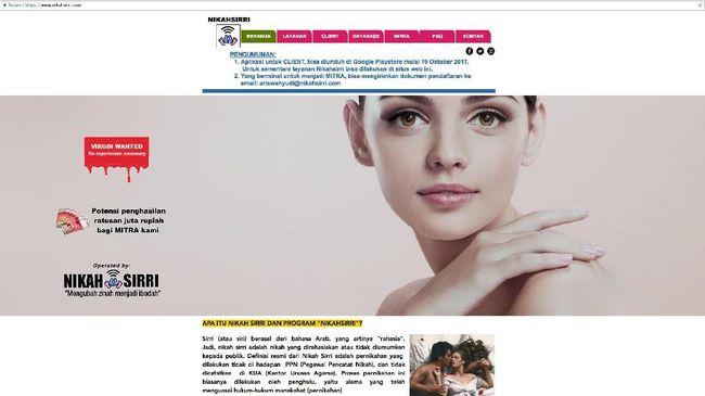 MUI menilai nikahsirri.com haram karena dugaan zina terselubung, di antaranya dengan menawarkan lelang perawan. Lembaga itu menilai pernikahan bukan bisnis.