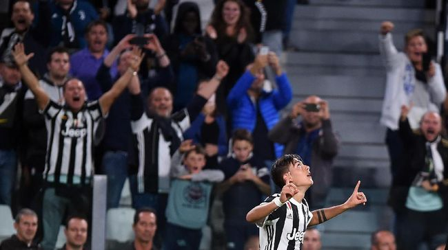 Tiga tim papan atas Serie A, Juventus, Napoli, dan AS Roma berjaya di pekan keenam Liga Italia Serie A, Sabtu (23/9). Ketiganya sukses menghajar lawan-lawannya.