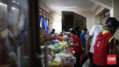 Logistik Pengungsi Gunung Agung Cukup Sampai 30 Hari ke Depan