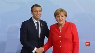 Merkel-Macron ingin Temui Putin-Erdogan Setop Perang Suriah