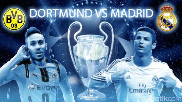 Madrid Gemilang di Kandang Dortmund