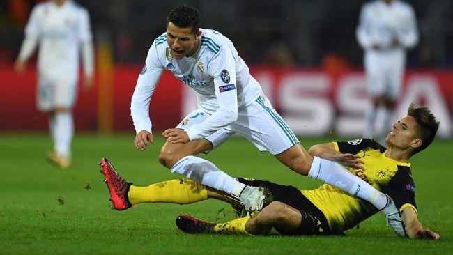 Duel sengit antara Real Madrid melawan Tottenham Hotspur bakal mewarnai Liga Champions pertengahan pekan ini yang akan disiarkan secara langsung.