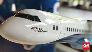 Buka-bukaan Pengembang Pesawat R80 Habibie Usai Diganti Drone