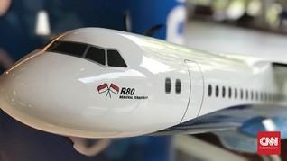 Mengenal Pesawat R80, Proyek Habibie yang Disetop Pemerintah