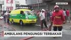 Hendak Menuju Pengungsian Gunung Agung, Ambulans Terbakar