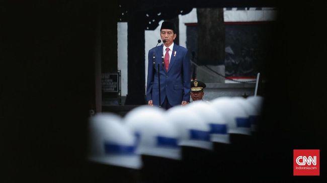 Dalam ucapannya memperingati Hari Kesaktian Pancasila, Presiden Jokowi mengatakan tantangan terbesar saat ini adalah menghadapi pandemi Covid-19.