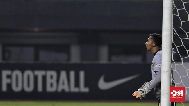 Kiper Bhayangkara FC Awan Setho Raharjo lapang dada tersingkir dari skuat Timnas Indonesia U-23 proyeksi SEA Games 2019.