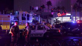 FOTO: Menit-menit Mencekam Penembakan Massal di Las Vegas