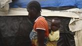 Para pengungsi internal yang kehilangan tempat tinggal karena pergerakan militan Boko Haram mesti rela terlunta di tanah sendiri.
