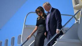 Donald Trump Sambangi Korban Selamat Teror Las Vegas