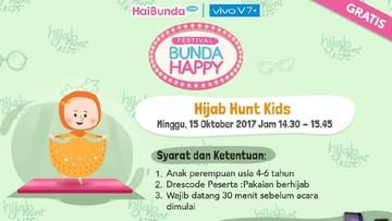 Yuk, Bun, Daftarkan si Kecil ke Hijab Hunt Kids