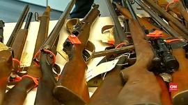 VIDEO: Las Vegas Memanas, Australia Kumpulkan Senjata Ilegal