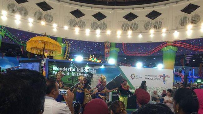 Kementerian Pariwisata menggelar Travel Gathering of Wonderful Indonesia di Hotel Sheraton, Muscat Oman pada 3 Oktober 2017.