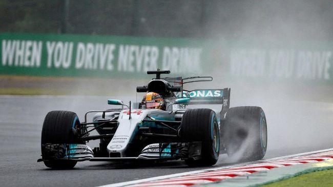 Pebalap Mercedes Lewis Hamilton menjadi yang tercepat dalam sesi kualifikasi GP Hongaria di Sirkuit Hungaroring, Sabtu (28/7) malam Waktu Indonesia Barat.