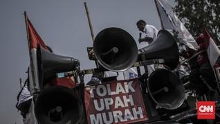 Disnakertrans Jabar Respons Tuntutan Buruh soal UMP 2021