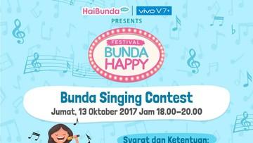 Singing Contest Ini Khusus Buat Bunda, Berminat Ikut?