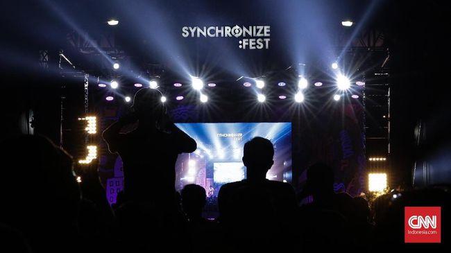 Synchronize Fest 2020 yang semula diagendakan pada 2-4 Oktober 2020 batal terlaksana akibat pandemi virus corona Covid-19.