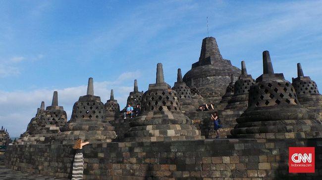 Pada masa libur lebaran 2019, yang diperkirakan berlangsung hingga 15 Juni 2019, akan ada 14 pintu scan tiket di Taman Wisata Candi Borobudur.