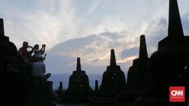 Taman Wisata Candi Borobudur Ditutup Sementara