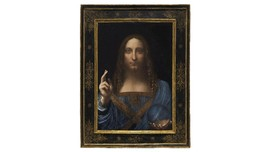 Lukisan Yesus Leonardo Da Vinci Diprediksi Laku Rp1,3 T