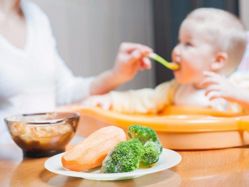 Bayi Prancis biasa mulai makan dengan sayuran. Perbedaan dalam hal pemberian makanan di Prancis adalah kecepatan makanan diperkenalkan. Orang tua di sana umumnya melakukan diversifikasi dan mengenalkan sayuran baru tiap 3-4 hari.