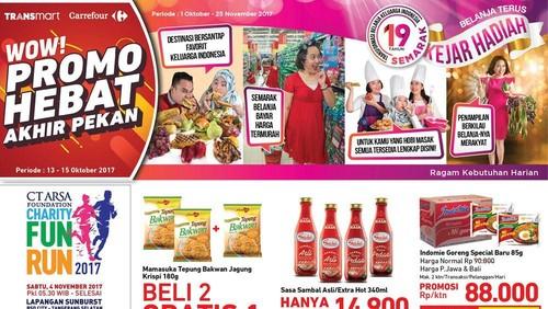 Promo Bahan Makanan di Akhir Pekan Transmart Carrefour