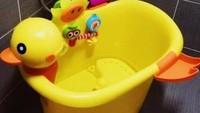 <p>Gemes banget sama kamar mandinya! (Foto: Instagram/littleonestarkl)</p>