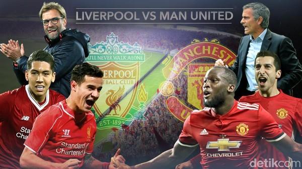 Liverpool vs Manchester United Tanpa Pemenang