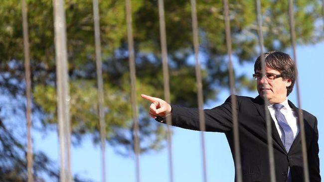 Pukulan Buat Spanyol Usai Jerman Tolak Ekstradisi Puigdemont