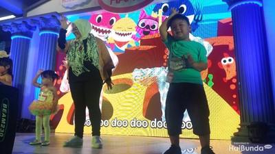 Let's Dance! Serunya Sekeluarga Kompak Joget 'Baby Shark'
